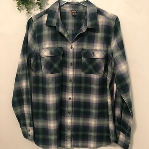 Eddie Bauer Cotton Flannel Shirt (L)
